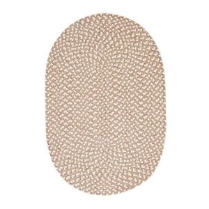 Colonial Mills Confetti 8-ft x 11-ft Natural Oval Area Rug