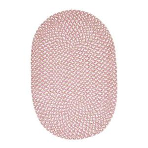 Colonial Mills Confetti 5-ft x 8-ft Pink Oval Area Rug