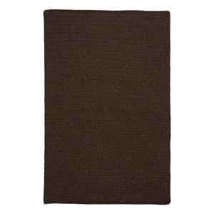 Colonial Mills Courtyard 2-ft x 10-ft Cocoa Rectangle Runner Rug