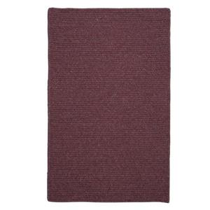 Colonial Mills Courtyard 2-ft x 12-ft Purple Rectangle Runner Rug