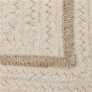 Colonial Mills Shear Natural 2-ft x 10-ft Rectangular Indoor Canvas Cream Area Rug Runner