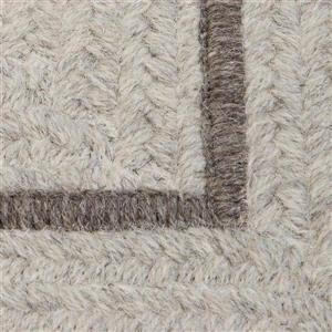 Colonial Mills Shear Natural 2-ft x 10-ft Rectangular Indoor Cobblestone Cream Area Rug Runner