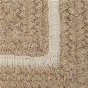 Colonial Mills Shear Natural 2-ft x 8-ft Rectangular Indoor Muslin Cream Area Rug Runner