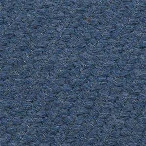 Colonial Mills Westminster 2-ft x 12-ft Federal Blue Runner