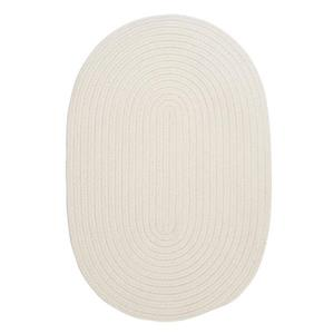 Colonial Mills Boca Raton 5-ft x 8-ft White Oval Area Rug