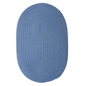 Colonial Mills Boca Raton 5-ft x 8-ft Blue Ice Area Rug
