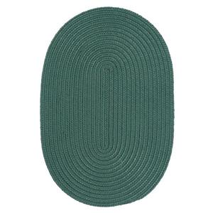 Colonial Mills Boca Raton 4-Ft x 6-Ft Myrtle Green Area Rug