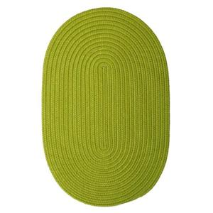 Colonial Mills Boca Raton 2-ft x 12-ft Bright Green Area Rug