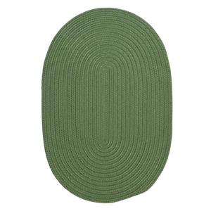 Colonial Mills Boca Raton 7-ft x 9-ft Moss Green Area Rug