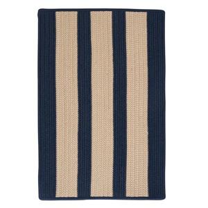 Colonial Mills Boat House 2-ft x 6-ft Navy Blue Area Rug