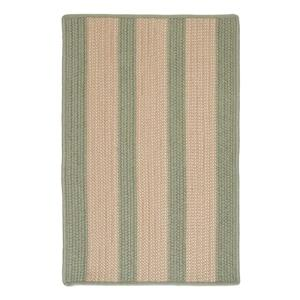Colonial Mills Boat House 7-ft x 9-ft Olive Area Rug