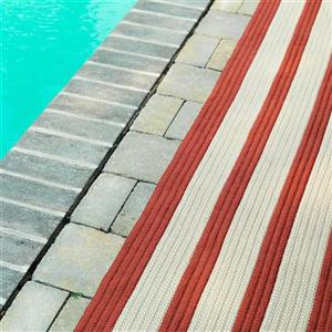 Colonial Mills Boat House 4-ft x 6-ft Rust Red Area Rug