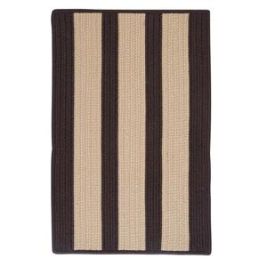 Colonial Mills Boat House 7-ft x 9-ft Brown Area Rug