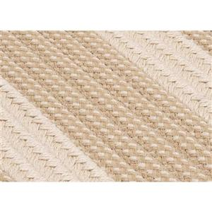 Colonial Mills Boat House 7-ft  x 9-ft Off-White Area Rug