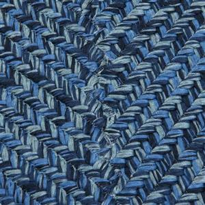 Colonial Mills Catalina 2-ft x 8-ft Blue Wave Area Rug Runner
