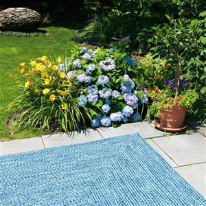 Colonial Mills Catalina 6-ft Blue Wave Square Area Rug