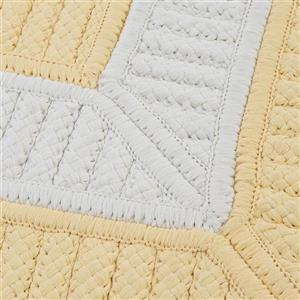 Colonial Mills Rope Walk 6-ft x 6-ft Yellow Area Rug