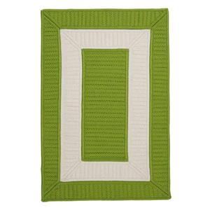 Colonial Mills Rope Walk 7-ft x 9-ft Bright Green Area Rug