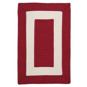 Colonial Mills Rope Walk Area Rug, Red