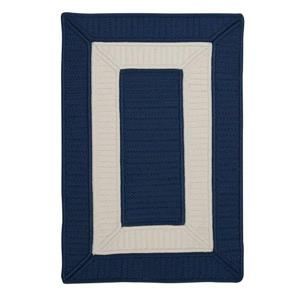 Colonial Mills Rope Walk 4-ft x 6-ft Navy Area Rug