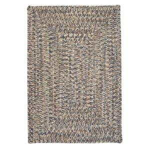 Colonial Mills Corsica 8-ft Lake-Blue Square Area Rug