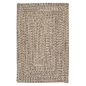 Colonial Mills Corsica 4-ft Storm Gray Square Area Rug