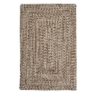 Colonial Mills Corsica 7-ft x 9-ft Weathered Brown Area Rug