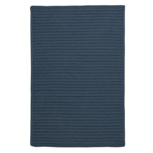 Colonial Mills Simply Home Solid 7-ft x 9-ft Lake Blue Area Rug