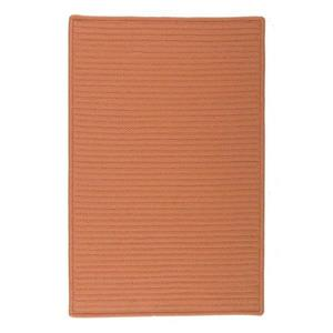 Colonial Mills Simply Home Solid 6-ft Rust Square Area Rug