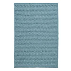 Colonial Mills Simply Home Solid 2-ft x 12-ft Federal Blue Area Rug