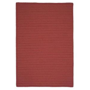 Colonial Mills Simply Home Solid 4-ft x 4-ft Terracotta Area Rug