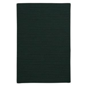 Colonial Mills Simply Home Solid 2-ft x 6-ft Dark Green Area Rug