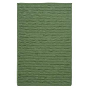 Colonial Mills Simply Home Solid 4-ft x 6-ft Moss Green Area Rug