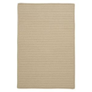 Colonial Mills Simply Home Solid 4-ft x 6-ft Linen Area Rug