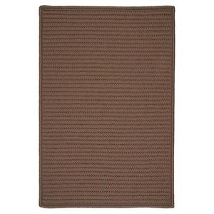 Colonial Mills Simply Home Solid 6-ft Square Cashew Area Rug