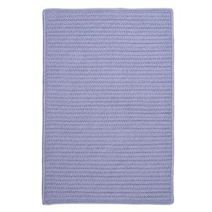 Colonial Mills Simply Home 2-ft x 12-ft Amethyst Solid Area Rug Runner