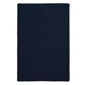Colonial Mills Simply Home Solid 2-ft x 12-ft Navy Area Rug Runner
