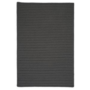 Colonial Mills Simply Home Solid 4-ft x 4-ft Gray Area Rug