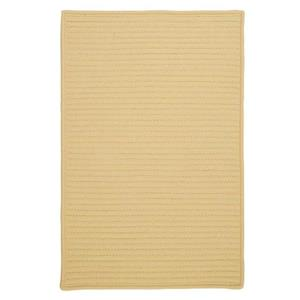 Colonial Mills Simply Home Solid 8-ft Pale Banana Square Area Rug