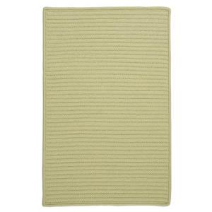 Colonial Mills Simply Home Solid 4-ft x 6-ft Celery Area Rug