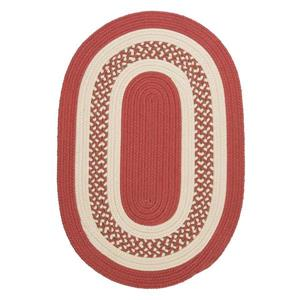 Colonial Mills Crescent 4-ft Terracotta Round Area Rug