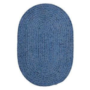 Colonial Mills Spring Meadow 4-ft x 6-ft Petal Blue Area Rug