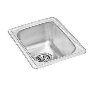 Wessan Stainless Steel Drop-In Prep Sink - 17-in x 13-in x 6 3/4-in