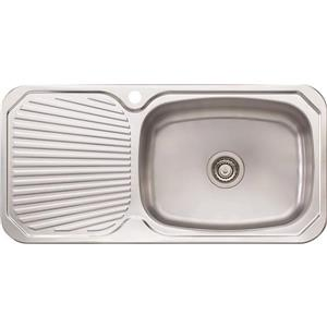 Wessan Universal Mount Sink- 38 5/8-in x 18 7/8-in x 7 3/4-in - Stainless