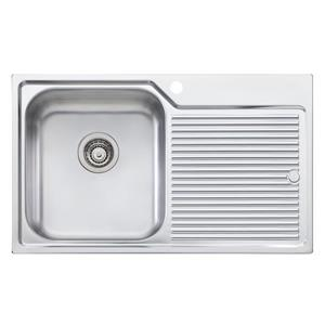 Wessan Universal Mount Sink - 32 1/4-in x 19 3/4-in x 8-in - Stainless