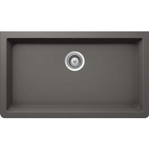 Wessan Granite Undermount Sink - 18 1/2-in x 33-in x 9 7/16-in