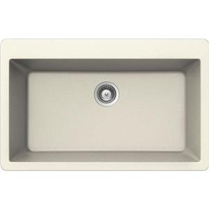 Wessan Granite Drop-In Sink - 20 7/8-in x 33-in x 9 7/16-in - Magnolia