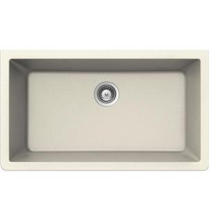 Wessan Granite Undermount Sink - 18 1/2-in x 33-in x 9 7/16-in - Magnolia