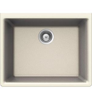 Wessan Undermount Sink - 18 1/4-in x 23 5/8-in x 8 5/8-in - Magnolia