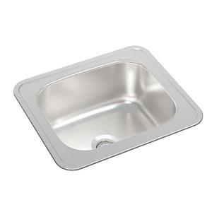 Wessan Stainless Steel Drop-In Bar Sink - 14 3/4-in x 12 3/4-in x 6-in